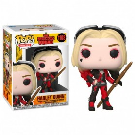 The Suicide Squad POP! Movies Vinyl Figura Harley Quinn (Bodysuit) 9 cm 1108