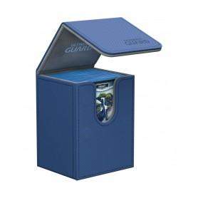 Ultimate Guard Flip Deck Case 80+ Caja de Cartas Tamaño Estándar XenoSkin Azul