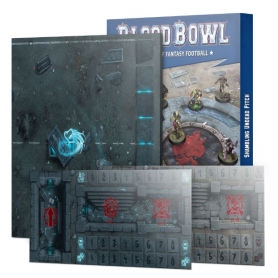 Blood Bowl Shambling Undead Pitch: Double-sided Pitch and Dugouts (Inglés