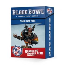 Blood Bowl Shambling Undead Team Card Pack (Inglés)