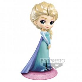 Figura Elsa Frozen Disney Characters Q Posket 14cm