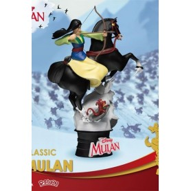Disney Diorama PVC D-Stage Mulan 18 cm