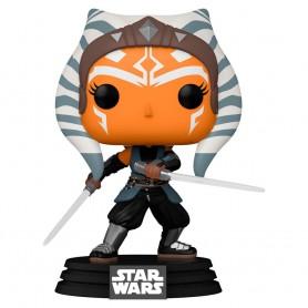 Figura POP Star Wars Mandalorian Ahsoka with Sabers 9cm 464