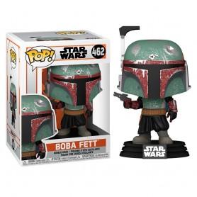 Star Wars The Mandalorian POP! TV Vinyl Figura Boba Fett 9 cm 462