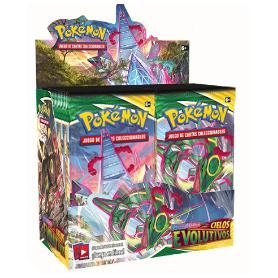 Caja de 36 sobres - Cielos Evolutivos Pokemon - Español