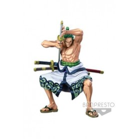 One Piece Estatua PVC Master Stars Piece The Roronoa Zoro (Two Dimensions) 22 cm