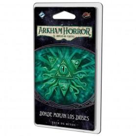 Donde moran los dioses - Arkham Horror, El juego de cartas