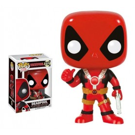 Marvel Comics POP! Vinyl Cabezón Deadpool Thumb Up 10 cm