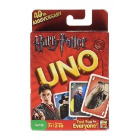 Harry Potter Juego de cartas UNO  Barajas Harry Potter