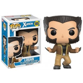 X-Men POP! Marvel Vinyl Cabezón Logan 185