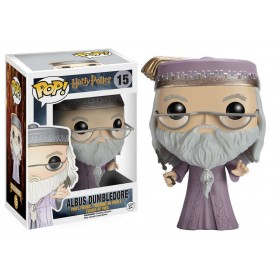 Harry Potter POP! Movies Vinyl Figura Dumbledore with Wand 15