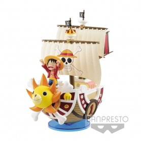 One Piece Figura Mega WCF Thousand Sunny 19 cm