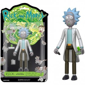 Rick & Morty Figura Rick 13 cm