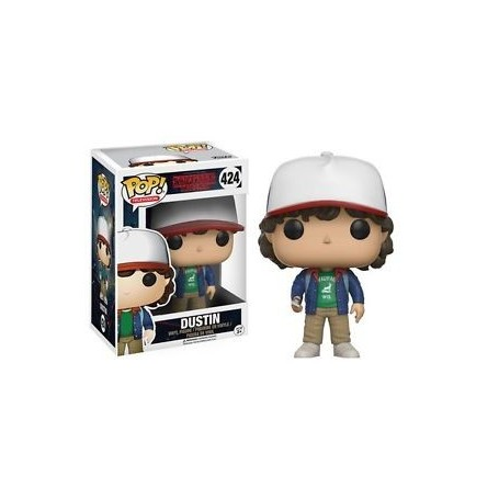 Stranger Things POP! TV Vinyl Figura Dustin 424