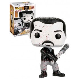 Walking Dead POP! Television Vinyl Figura Black & White Negan 9 cm 390