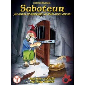 SABOTEUR DELUXE: BASICO +EXPANSION