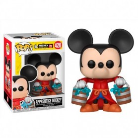 Mickey Mmouse 90th Anniversary Figura POP! Disney Vinyl Apprentice Mickey 9 cm 426