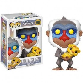Figura Funko Pop! Rafiki with Simba