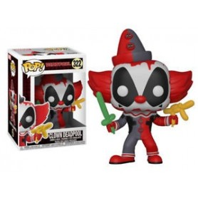 Figura Funko Pop! Clown Deadpool 322 Booble Head