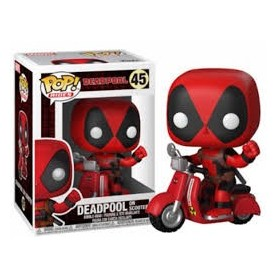 Figura Funko Pop! Deadpool on Scooter 48