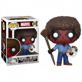 Figura Funko Pop! Deadpool as Bob Ross 319