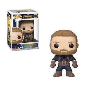 Figura Funko Pop! Capitan América 288 Avengers Infinity War