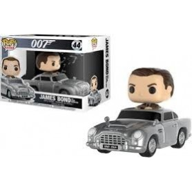 Figura Funko Pop! James Bond with Aston Martin DB5
