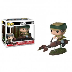 Figura Funko Pop! Princess Leia With Speeder Bike 228