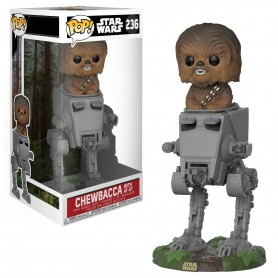 Figura Funko Pop! Chewbacca with AT-ST
