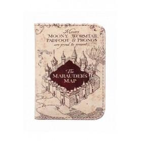 Harry Potter Carterita de Carné Marauder's Map