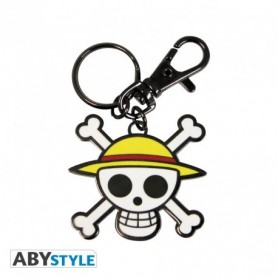 One Piece Llavero Metal Calavera Color