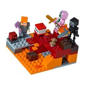 LEGO® Minecraft™ El combate en el infierno