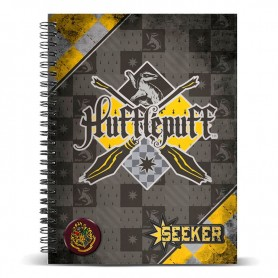 Cuaderno A5 Harry Potter Quidditch Hufflepuff