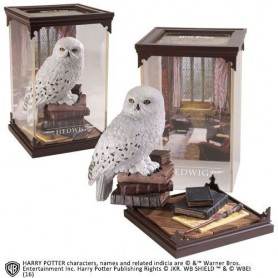 Harry Potter Estatua Magical Creatures Hedwig 19 cm