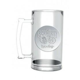 Rick y Morty Jarra de cerveza Get Schwifty