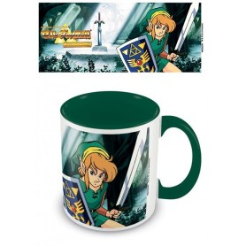 Legend of Zelda Taza Coloured Inner The Lost Woods