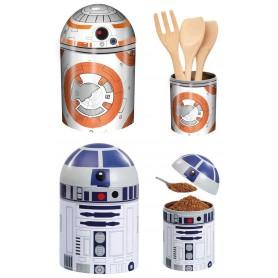 Star Wars Botes de almacenamiento BB-8 & R2-D2
