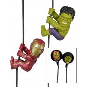 Vengadores La Era de Ultrón Scalers Pack de 2 Minifiguras y Auriculares