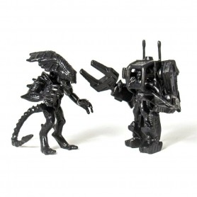 Aliens Pack de 2 Figuras MUSCLE Riplev & Alien Queen Black SDCC 2017 4cm