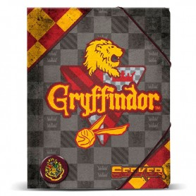 Carpeta A4 Harry Potter Quidditch Gryffindor gomas