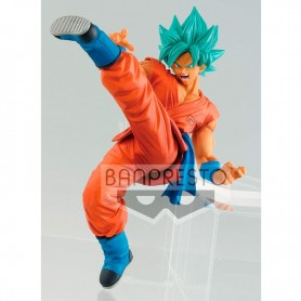 Figura Dragon Ball Super Saiyan God Son Gokou Fes 16cm