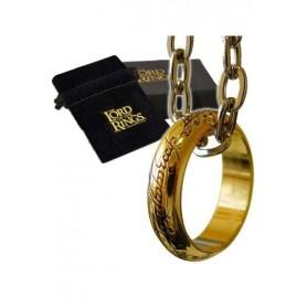 El Señor de los Anillos Anillo Único (dorado)
