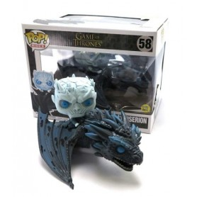 Figura Funko Pop! Night King & Viserion 15 cm