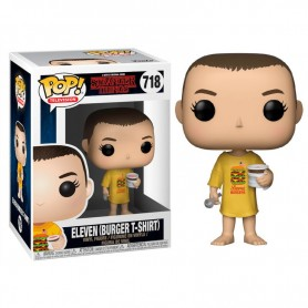Figura Funko Pop! Eleven in burger Tee 718 Stranger Things