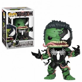 Venom POP! Marvel Vinyl Cabezón Venomized Hulk 9 cm