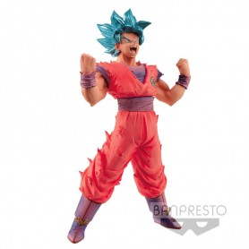 Figura Super Saiyan Blue Goku Blood of Saiyans Dragon Ball Super 18cm