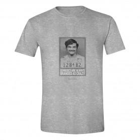 Narcos Camiseta Pablo Genius Crazy Talla M