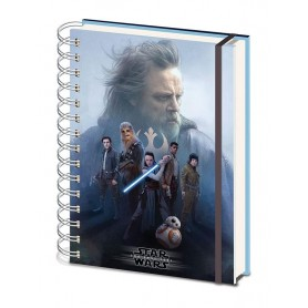 Star Wars Episode VIII Libreta A5 Cast