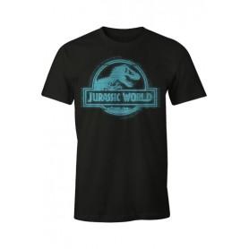 Jurassic Park Camiseta Blue Logo