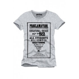 Harry Potter Camiseta Proclamation 82